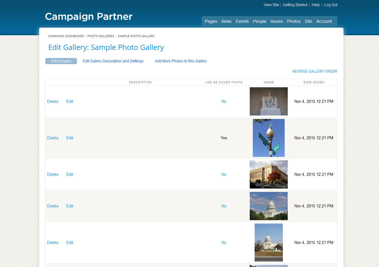 Political Websites by Campaign Partner | Campaign Websites for ...